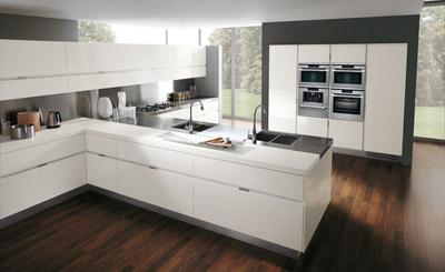 stile minimale ed architettonico per le cucine moderne - Cucine Moderni